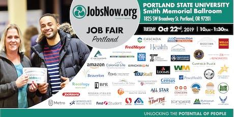Portland Job Fair-JobsNow.org tickets