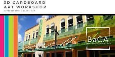 Cardboard Art Workshop tickets