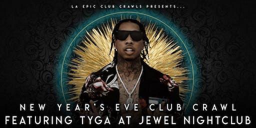 2020  Las Vegas New Years Eve Club Crawl - TYGA at JEWEL