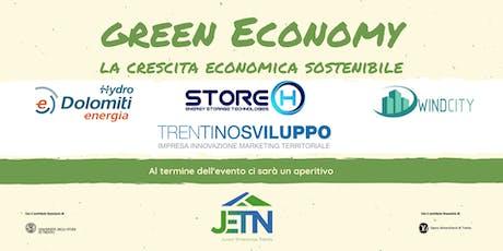 Green Economy: la crescita economica sostenibile biglietti