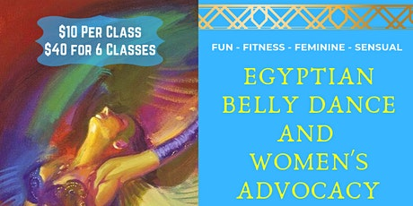 Egyptian Belly Dance Class Every Sunday tickets