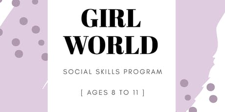Girl World Social Group tickets
