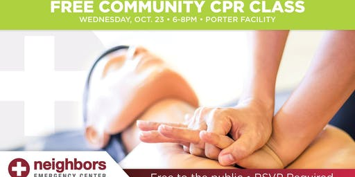 Free Community CPR class