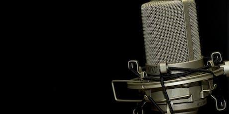 3-Week Beginner Voice-Over Class with Jason Sasportas (Stewart Talent) Starting 12/4/19 tickets