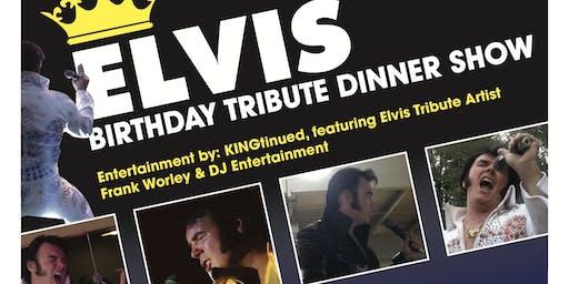 ELVIS BIRTHDAY TRIBUTE DINNER SHOW