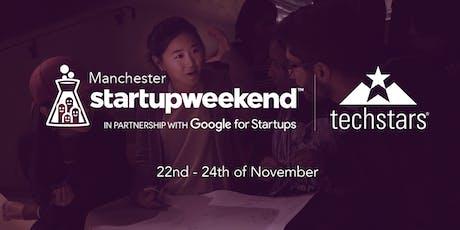 Techstars Startup Weekend Manchester November 2019 tickets