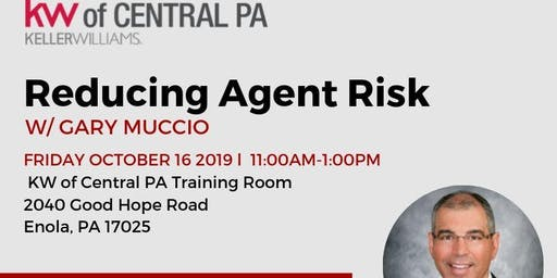 Reducing Agent Risk in all Transactions w/ Gary Muccio