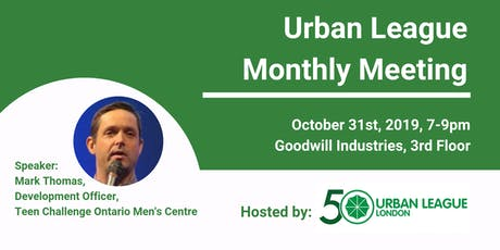 October Urban League Monthly Meeting tickets