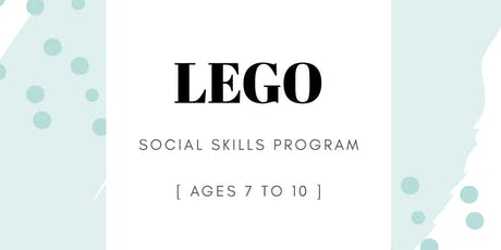 LEGO® Based Social Skills Group tickets