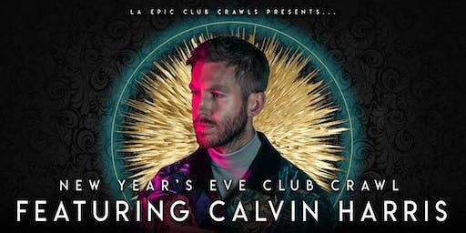 2020  Las Vegas New Years Eve Club Crawl -  Calvin Harris at Omnia Nightclub