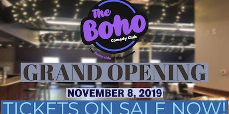 The Boho Grand Opening-November 8th w/Moody McCarthy! tickets