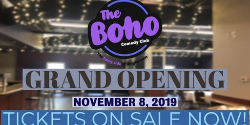 The Boho Grand Opening-November 8th w/Moody McCarthy!
