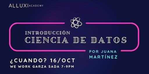 Workshop: Introducción a Ciencia de Datos