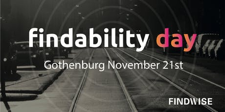 Findability Day 2019 tickets
