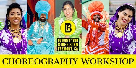 Bhangra Empire's Choreography Workshop tickets