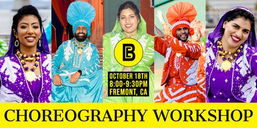 Bhangra Empire's Choreography Workshop