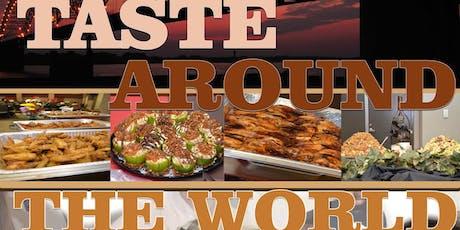 Taste Around the World Benefit Dinner tickets