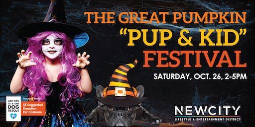 "The Great Pumpkin ""Pup & Kid"" Fall Festival"