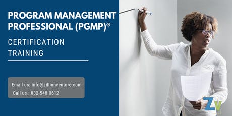 PgMP Certification Training in Thunder Bay, ON tickets
