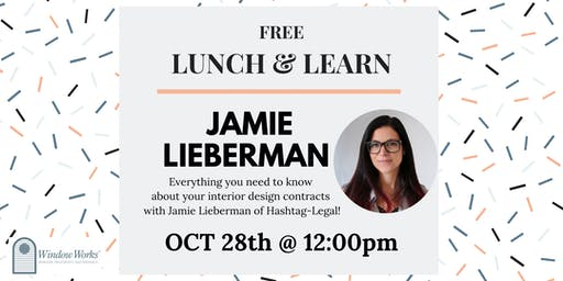 Lunch & Learn with Jamie Lieberman, founder of Hashtag-Legal