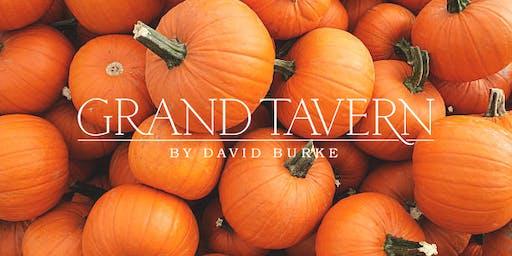 Pumpkin Carving at Grand Tavern by David Burke