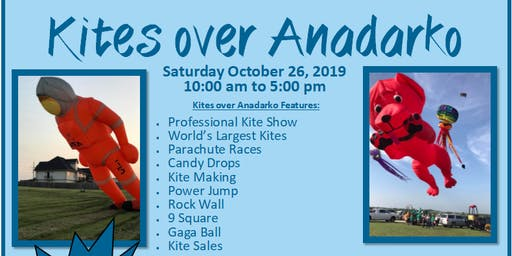 Kites over Anadarko