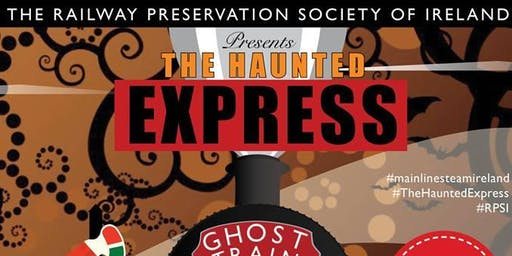 The Haunted Express Train 4 - Dublin Connolly to Maynooth & Return