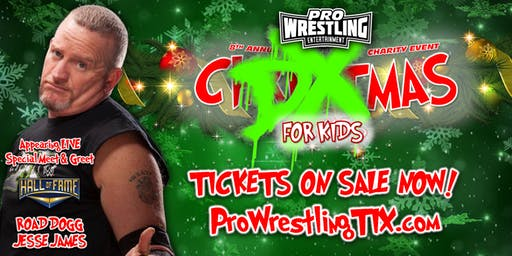 Pro Wrestling Entertainment: DXmas for Kids 2019 w/ Road Dogg Jesse James