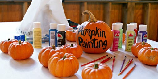 Little Circle Pumpkin Painting Event