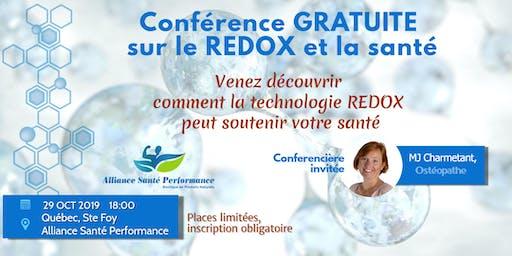 Comprendre les composés REDOX d'ASEA (ASP)