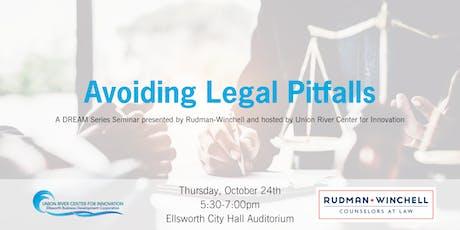 Avoiding Legal Pitfalls Seminar tickets