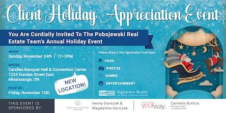 Annual Client Appreciation Event -  The Pobojewski Real  Estate Team tickets