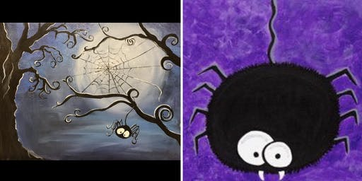 Kids Paint Spider...Painter's Choice
