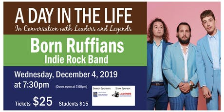 A Day in the Life with Born Ruffians tickets