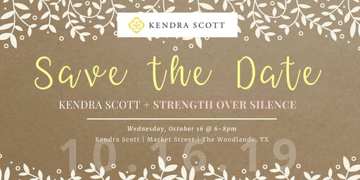 Shop with Kendra Scott + Strength Over Silence!
