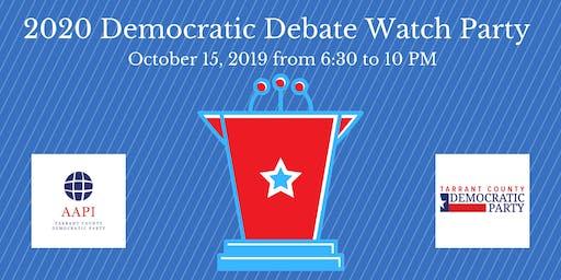 October Democratic Debate Watch Party with AAPI Committee