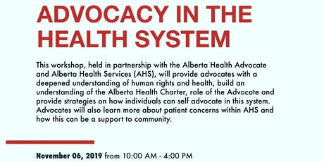 Stride Slave Lake: Advocacy in the Health System tickets