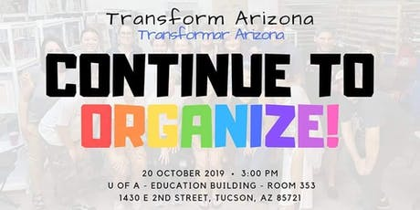 Continue To Organize! tickets
