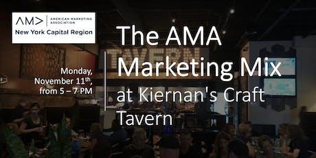 The AMA Marketing Mix at Kiernan's Craft Tavern tickets