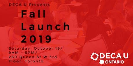 DECA U Fall Launch 2019 tickets