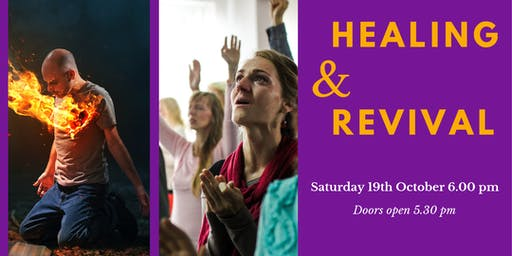 HEALING & REVIVAL MEETING - Saturday Evening - Froncysyllte Community Centre, Llangollen