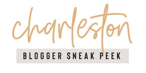 Invite-Only Charleston Blogger Sneak Peek