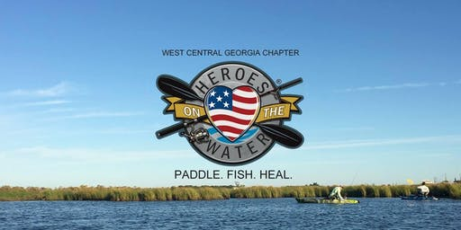 Heroes on the Water Outing - Lake McIntosh