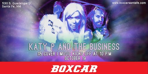 Katy P and the Business at Boxcar