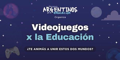 VIDEOJUEGOS X LA EDUCACIÓN entradas