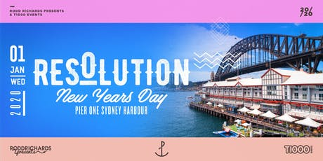 Resolution NYD 2020 - Pier One Sydney Harbour tickets