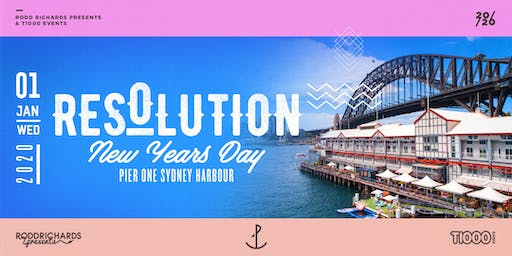 Resolution NYD 2020 - Pier One Sydney Harbour