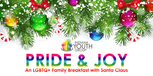 IYG Pride and Joy: An LGBTQ+ Family Breakfast with Santa Claus