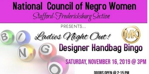 NCNW Stafford-Fredericksburg Section Presents: Designer Handbag Bingo