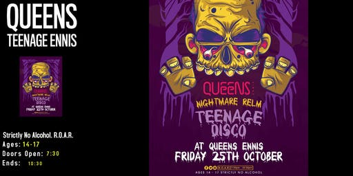 Queens Halloween Teen Disco